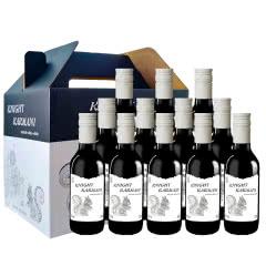 智利原瓶原装进口红酒小瓶装187.5ml骑士干红葡萄酒整箱礼盒12支