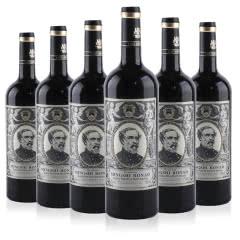 法国原酒进口名仕罗纳德将军尊誉干红葡萄酒750ml(6瓶装)