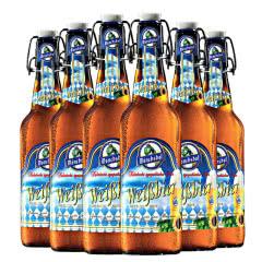 德国进口啤酒猛士小麦白啤酒500ml(6瓶装)