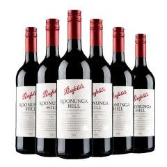 奔富寇兰山西拉赤霞珠红葡萄酒750ml 6支装