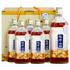 塔牌冰醇500ml*6瓶装 半干型绍兴黄酒礼盒装 冰藏特型老酒 花雕酒