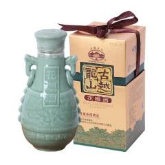 绍兴黄酒古越龙山商务用酒花雕酒1000ml青瓷礼盒老酒糯米酒瓶装