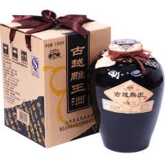绍兴黄酒 古越龙山古越雕王酒半甜型老酒2.5L坛装老酒花雕糯米酒