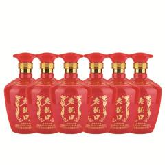 52°老龙口红柔经典酒500mlx6瓶整箱