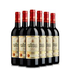 维莎梅洛干红葡萄酒750ml 6支装