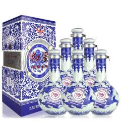 50°红星二锅头千尊1949清香型白酒500ml(6瓶装)整箱
