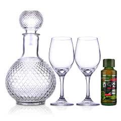 【包邮】酒具套装(醒酒器+酒杯*2)+肯迪醒(韩国原装进口)100ml