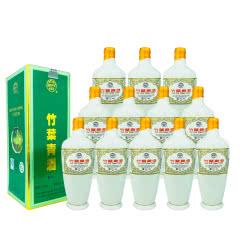 融汇老酒 45º瓷瓶竹叶青酒盒装500ml(12瓶装)2009年