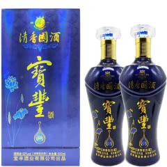 河南白酒 宝丰酒 宝丰清香國酒G9酒52度清香型白酒500ml 2瓶