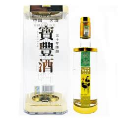 河南白酒 宝丰酒 宝丰(三十陈酿)酒清香型白酒54度500ml 1瓶