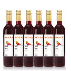 慕拉(MOULA)甜红葡萄酒自酿葡萄酒甜型冰红甜酒女士冰酒红酒果酒500ml*6