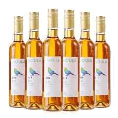 慕拉(MOULA)红酒冰酒白葡萄酒雷司令甜型酒赤珠霞红葡萄酒500ml 冰白6支装