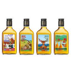 40°花乐四大产区系列麦芽威士忌组合装200ml*4