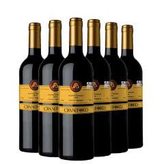 澳大利亚原瓶进口 吉卡斯 凯富酒庄 金色王子赤霞珠干红葡萄酒750ml(6瓶装)