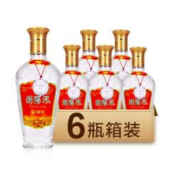 50度浏阳河浓香型高度白酒 50周年酒 475ml*6