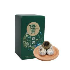 侨宝小青柑皮普洱茶96g茶叶