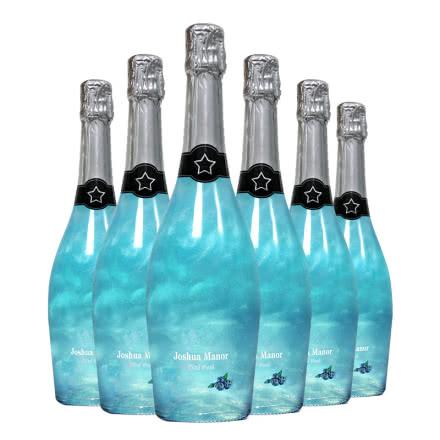 澳洲乔睿庄园 低度甜酒果味葡萄酒 魔幻火焰酒星空起泡酒 樱花蓝莓味 750ml 整箱装