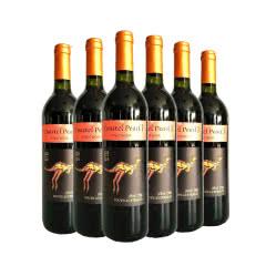 澳洲整箱红酒澳大利亚原瓶进口黑比诺红酒袋鼠干红葡萄酒750ml(6瓶装)