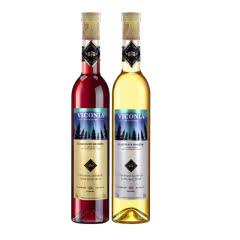 12°维科尼娅 甜型冰酒 冰白+冰红葡萄酒 375ml*2双支装