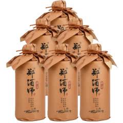 53°贵州茅台镇 郑酒师家宴 酱香型白酒 固态纯粮 白酒整箱500ml*6瓶