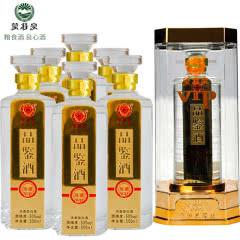50°蒙特泉VIP品鉴酒珍藏 内蒙古浓香型白酒 500ml(6瓶)