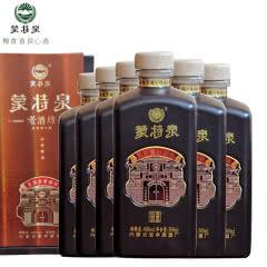 46°蒙特泉老酒坊五粮精酿 浓香型白酒纯粮食酒500ml(6瓶装)