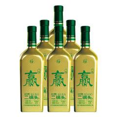 【酒厂直营】华都 北京二锅头(国安一起赢)53度500ml*6清香型白酒整箱 足球队定制酒