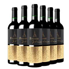 法国进口红酒 弗瑞斯黛谜干红葡萄酒750ml(6瓶装)