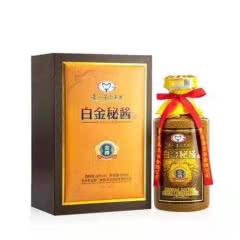 53°贵州茅台集团 白金秘酱酒 酱香型白酒礼酒500ml