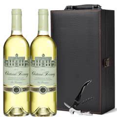 法国进口干白法郎妮帕图斯干白葡萄酒750ml*2(礼盒套装)