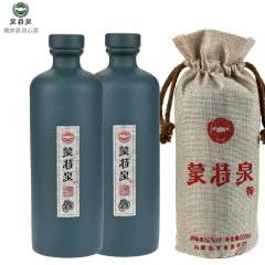 52°蒙特泉君子兰内蒙古纯粮食白酒 浓香型白酒 500ml(2瓶)