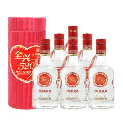52° 全兴 全兴520  浓香型白酒500ml(6瓶整箱装) 2007年