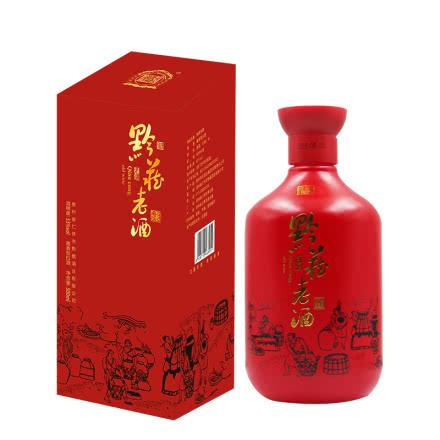 黔藏老酒(缘)53度酱香型白酒 500ml*6整箱装 茅台镇 粮食酿造