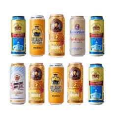 白啤啤酒组合装德国原装进口凯尔特人凯撒顿姆歌德金城堡啤酒500ml*12听