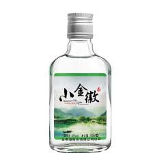 45°金徽酒小金徽100mL单瓶装甘肃名酒浓香型纯粮白酒
