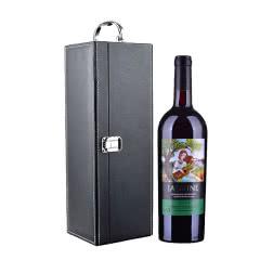 法国红酒茉莉花超级波尔多干红葡萄酒750ml(单只礼盒套装)