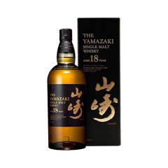 43°山崎18年日本单一麦芽威士忌700ml