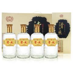 山东百脉泉 清照粮篓酒 42度浓香型白酒 777ml*4瓶礼盒装
