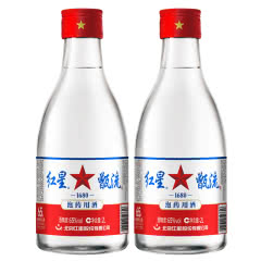 65°北京红星二锅头甑流2L(2瓶装)高度白酒