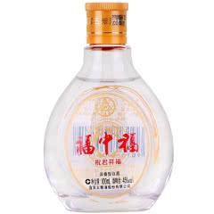 45°五粮液股份公司出品 福中福100ml 浓香型小酒版 小瓶装白酒