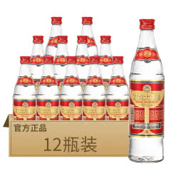 53°双沟 大曲优异 浓香型 白酒 500ml*12 整箱装