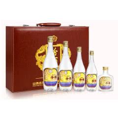 53度出口系列汾酒 清香型白酒750ml+500ml+375ml+250ml+125m套装