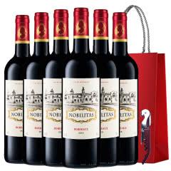 拉蒙 雾榭园 波尔多AOC级 法国原瓶进口 干红葡萄酒750ml*6整箱装