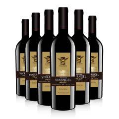 法国进口红酒天使系列VDF干红葡萄酒轻宽肩瓶型整箱750ml *6