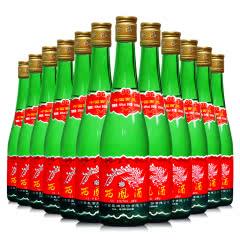 45度西凤酒 高脖绿瓶 绵柔凤香型  小聚自饮 粮食白酒 裸瓶500ml*12瓶