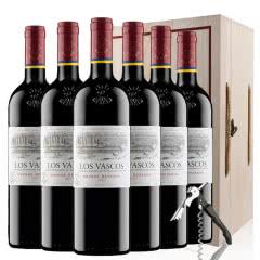 拉菲红酒 拉菲原瓶进口巴斯克花园珍藏干红葡萄酒红酒整箱礼盒装750ml*6