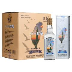 台岛台湾高粱酒 八八珍酿42度 淡雅高粱酒 600ml*6瓶 金门浓香型 白酒整箱
