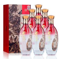 42°老泸州赏品白酒整箱白酒礼盒装浓香型500ml*6瓶装