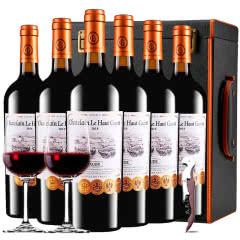 张裕先锋乐高贵族城堡庄主珍藏干红葡萄酒法国原瓶进口红酒整箱礼盒装750ml*6