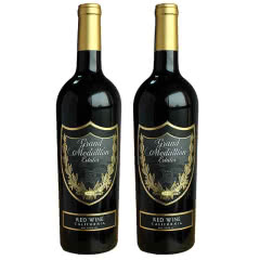 美国原瓶进口红酒加州中央山谷美特兰混酿红葡萄酒750ml*2